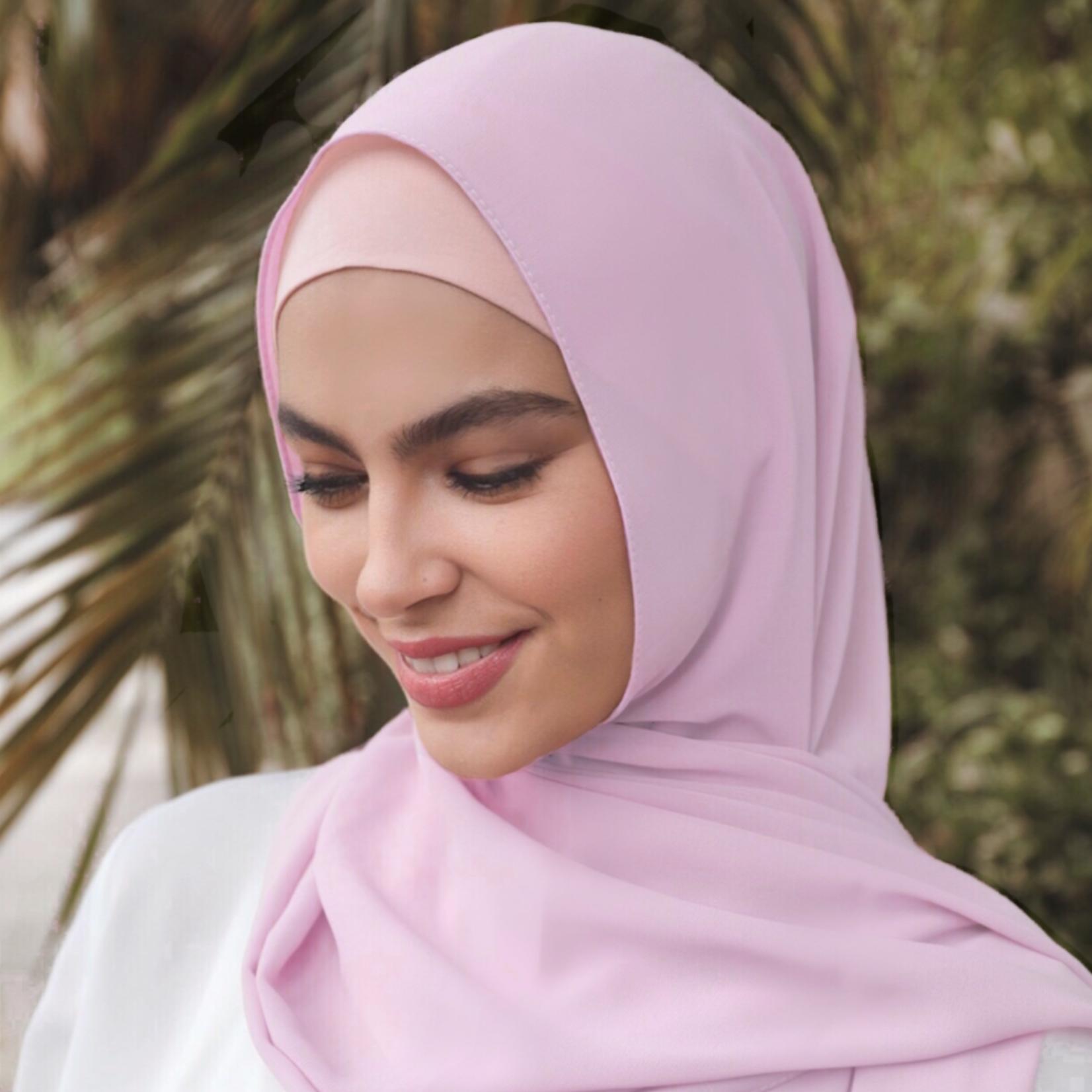 Nasiba Fashion Blush Pink Scarf