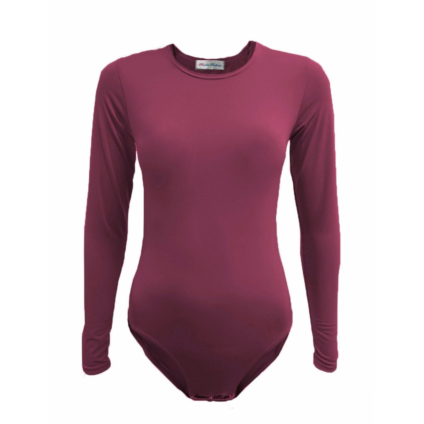 Nasiba Fashion Plum Bodysuit