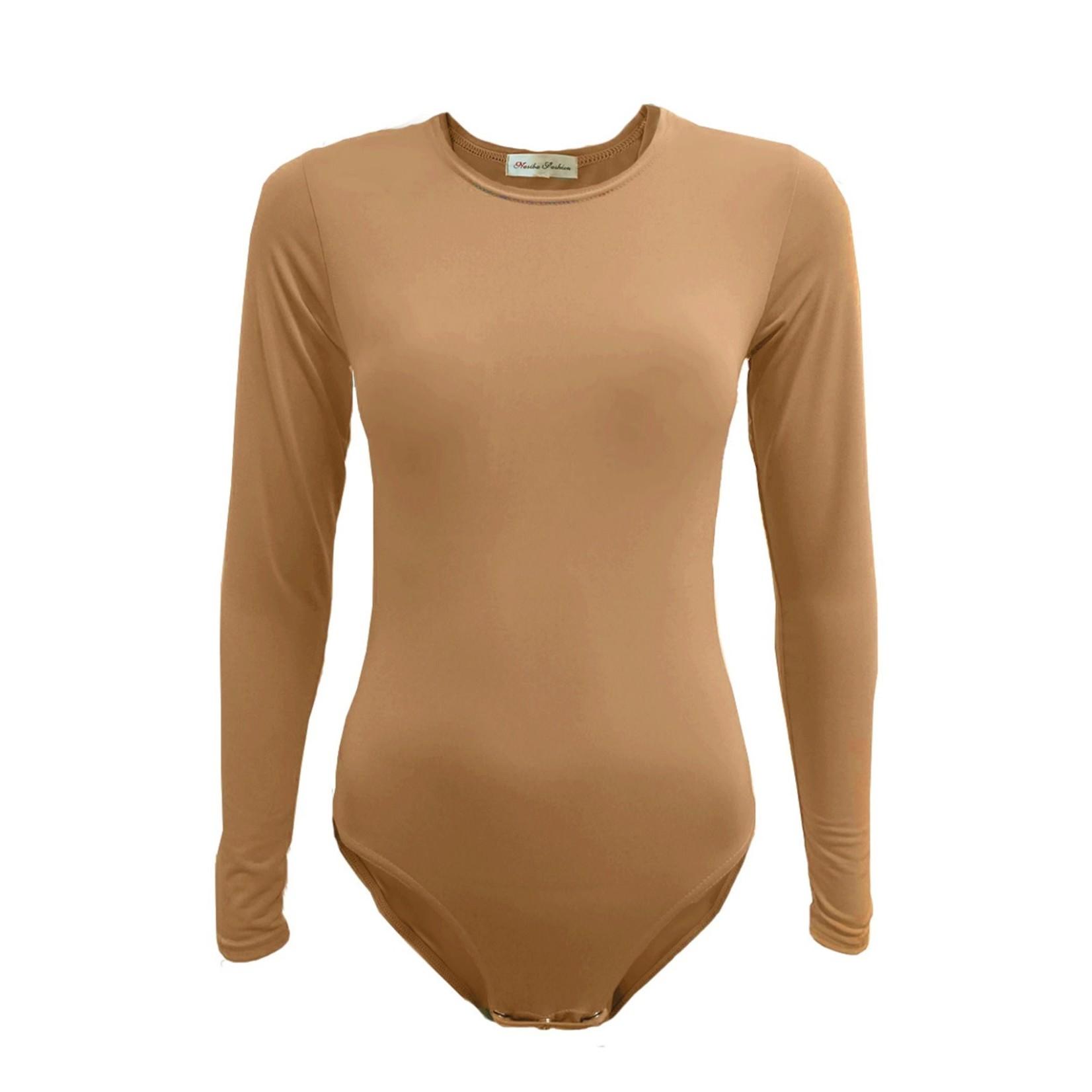 Nasiba Fashion Gold Bodysuit