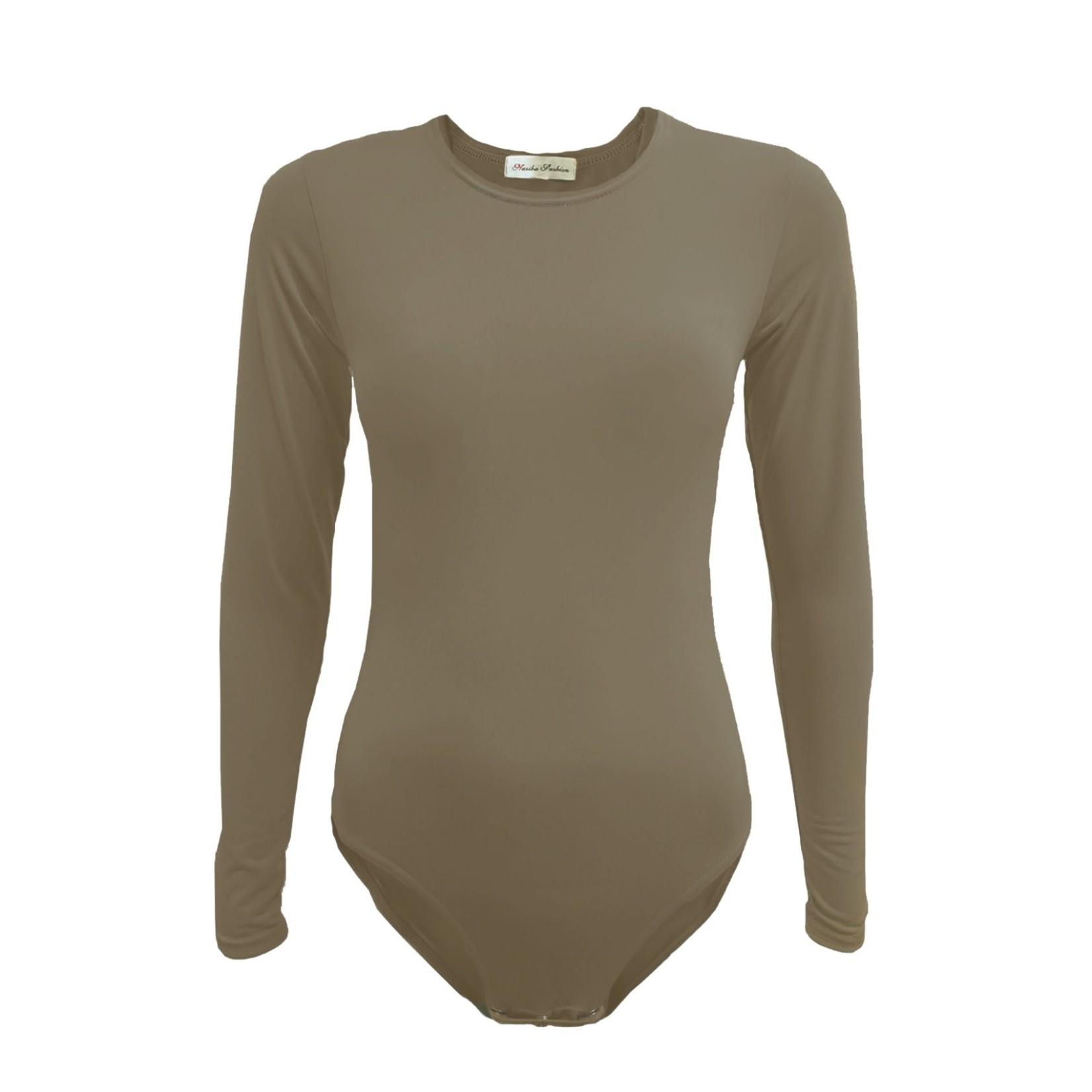 Nasiba Fashion Twill Bodysuit