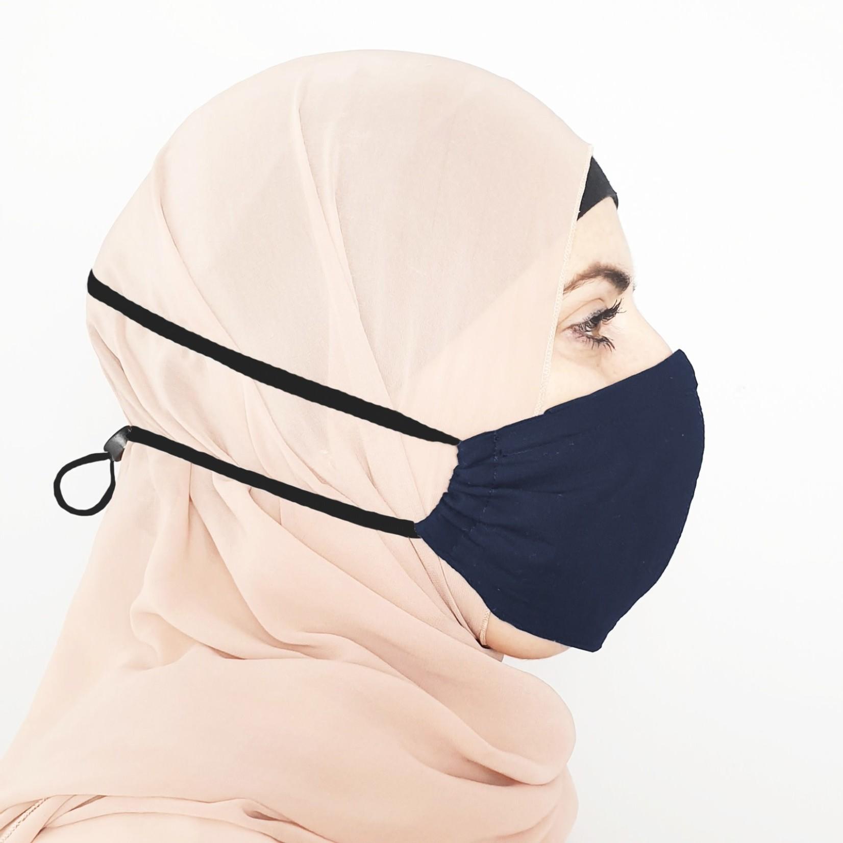 Nasiba Fashion Mask Navy