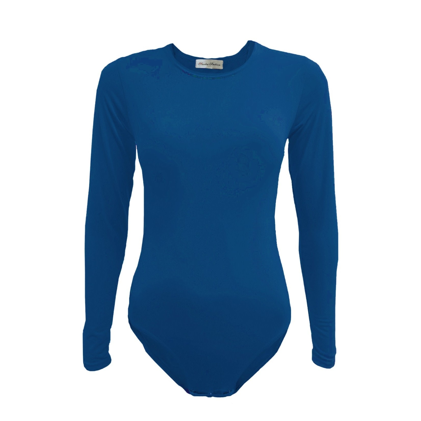 Nasiba Fashion Royal Blue Bodysuit