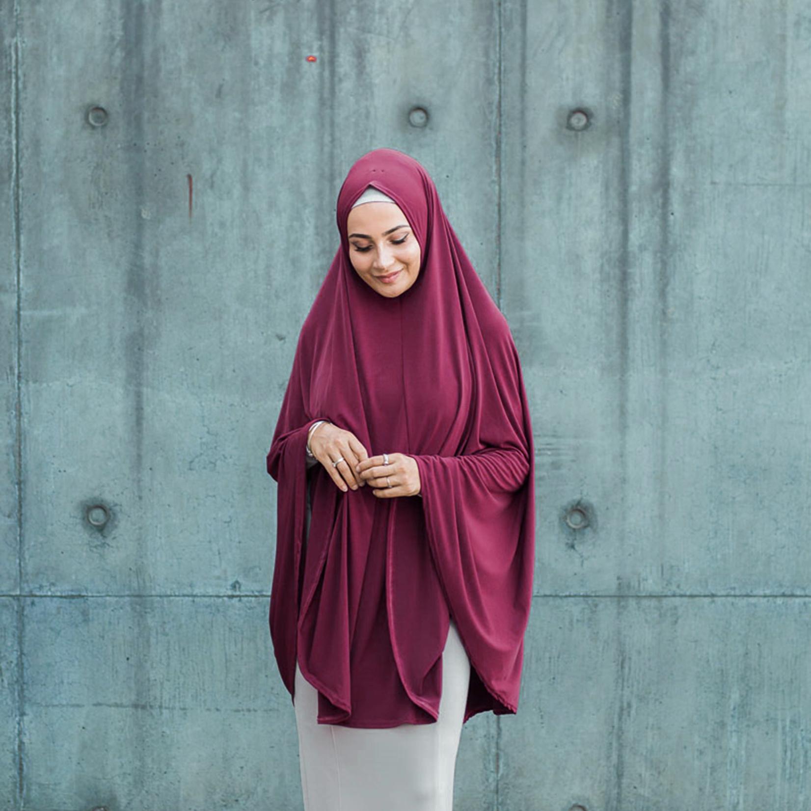 Nasiba Fashion Plum Jilbab