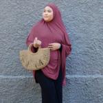 Nasiba Fashion Beaujolais jilbab