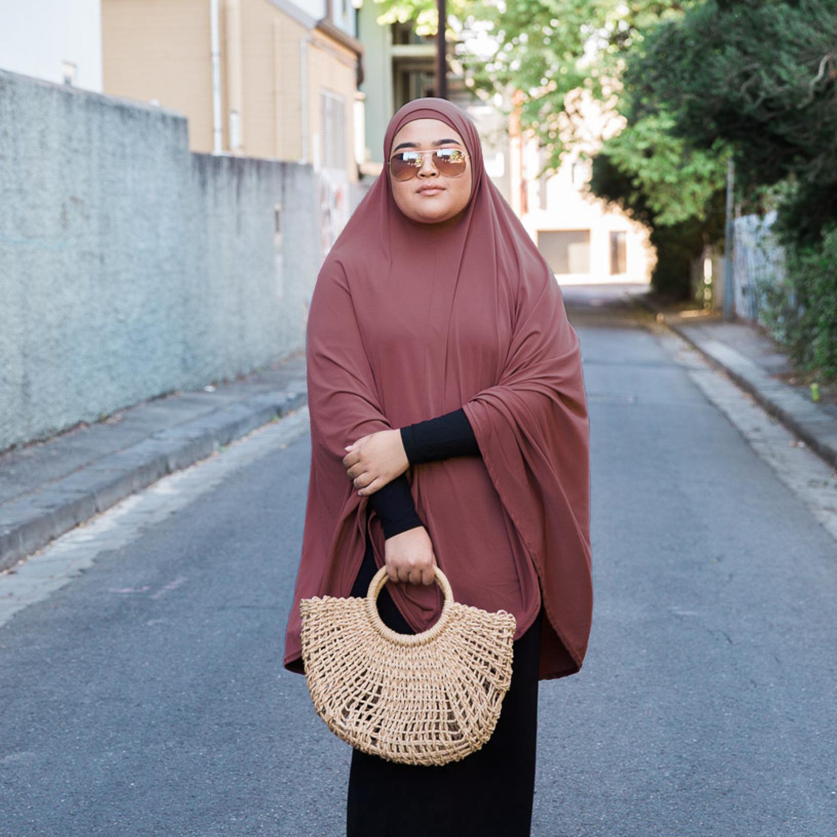 Nasiba Fashion Dusty Rose Jilbab