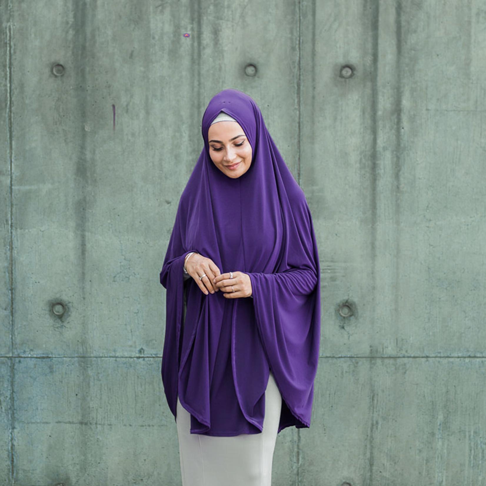 Nasiba Fashion Purple Jilbab