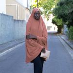 Nasiba Fashion Dark Pearwood Jilbab