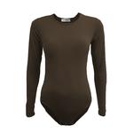 Nasiba Fashion Cocoa Brown Bodysuit