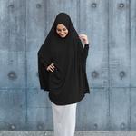 Nasiba Fashion Black Jilbab Sleeves