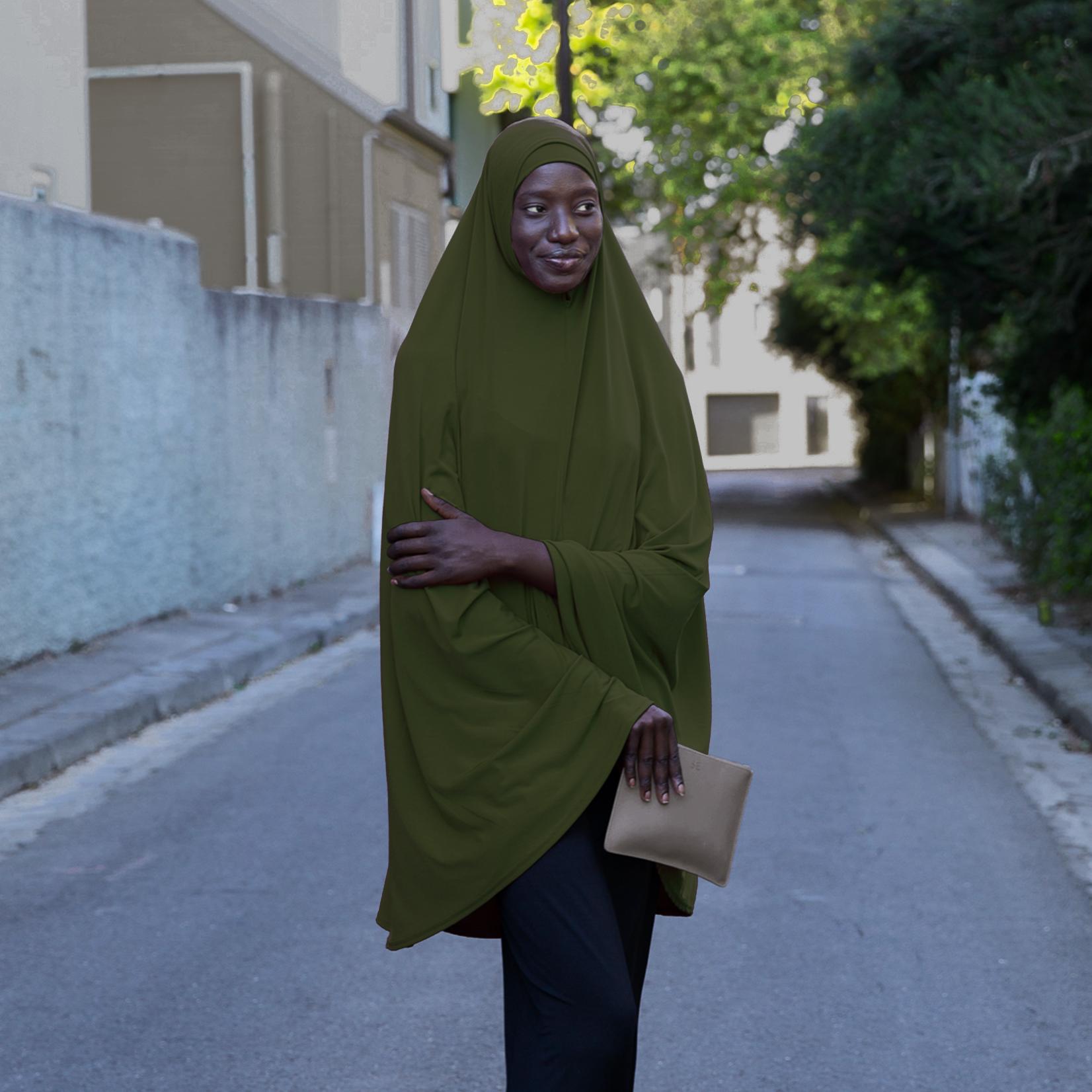 Nasiba Fashion Olive Jilbab