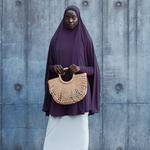 Nasiba Fashion Dark Fig Jilbab Sleeves