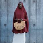 Nasiba Fashion Eggplant Jilbab Sleeves