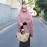 Nasiba Fashion Light Lilac Jilbab
