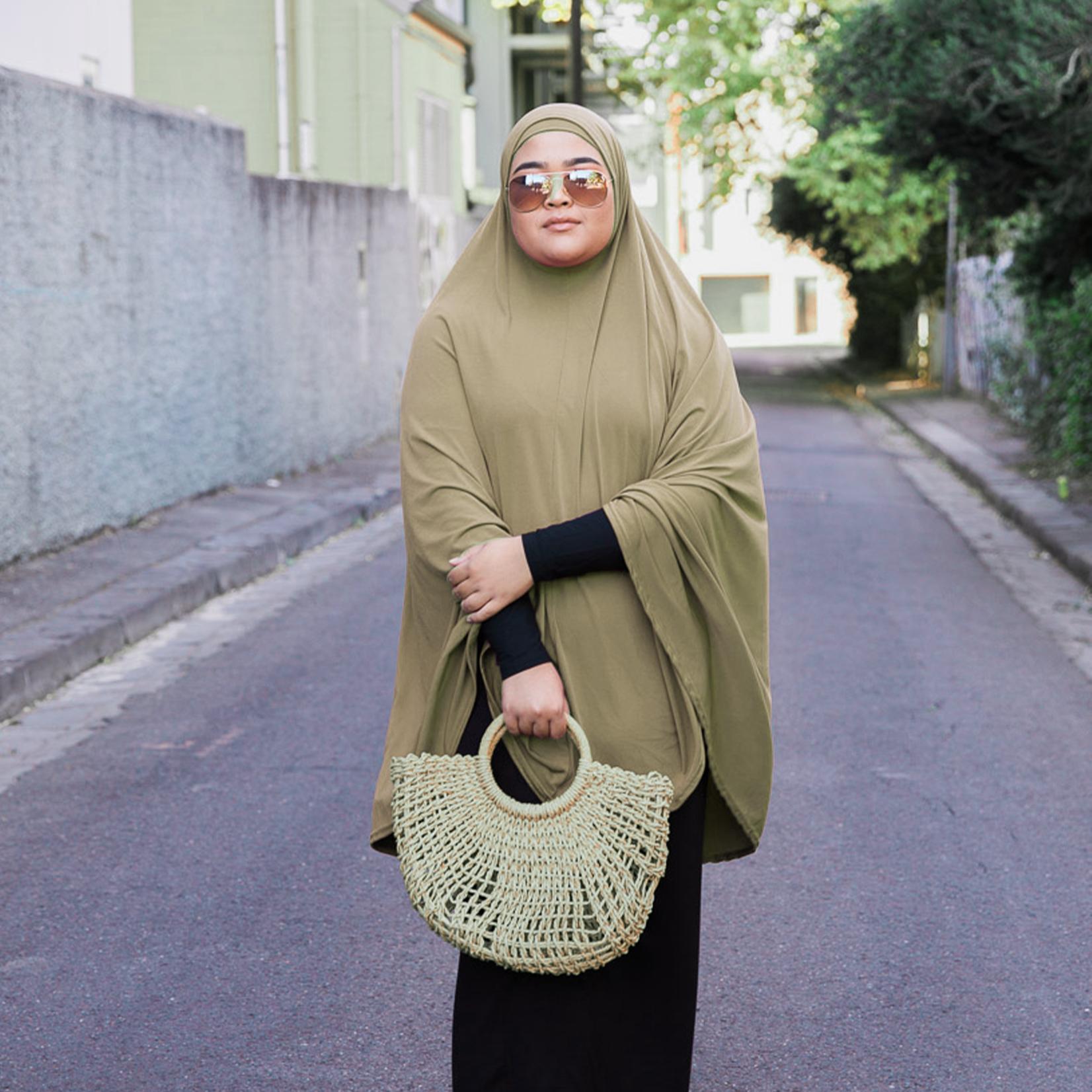 Nasiba Fashion Pale Khaki Jilbab