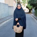 Nasiba Fashion Galaxy Blue Jilbab