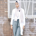 Nasiba Fashion White Summer Shirt