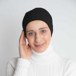 Nasiba Fashion Black Lycra Headband