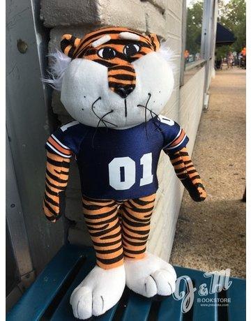 Mascot Factory 12 inch  Aubie Stuffed Animal with 01 Jersey