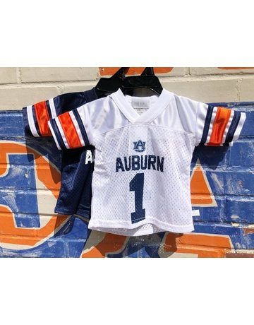 Third Street Sportswear Auburn #1 Infant and Toddler Football Jersey