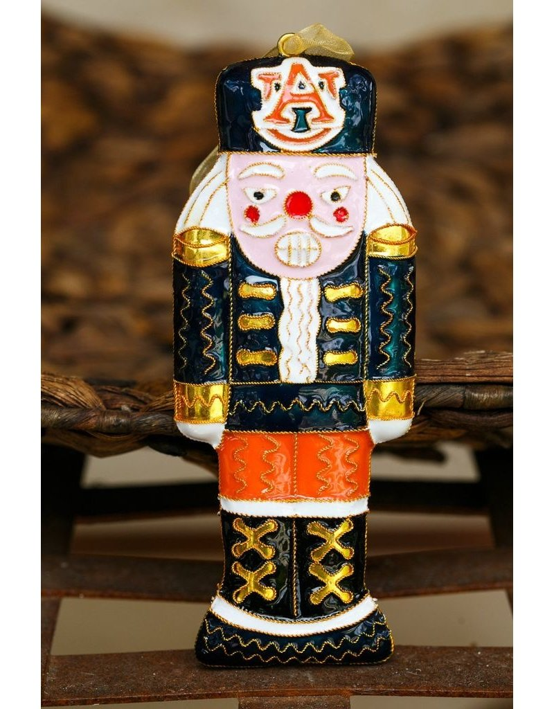 Kitty Keller Designs Auburn Nutcracker Ornament
