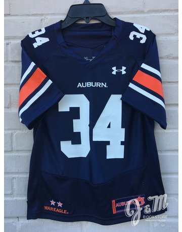 Under Armour #34 Youth Football Jersey