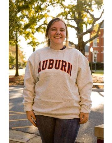 Champion Champion Arch Auburn Embroidered Fleece Crew