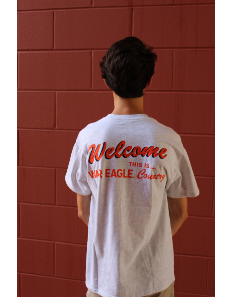 MV Sport Welcome This is War Eagle Country T-Shirt