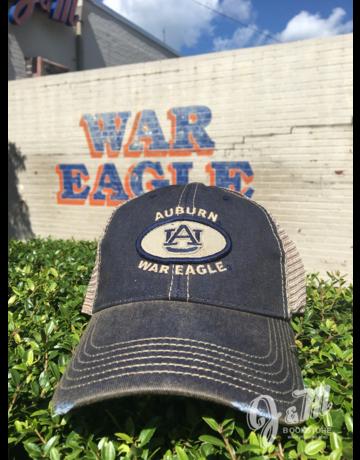 Legacy Auburn AU Oval Patch Mesh Hat
