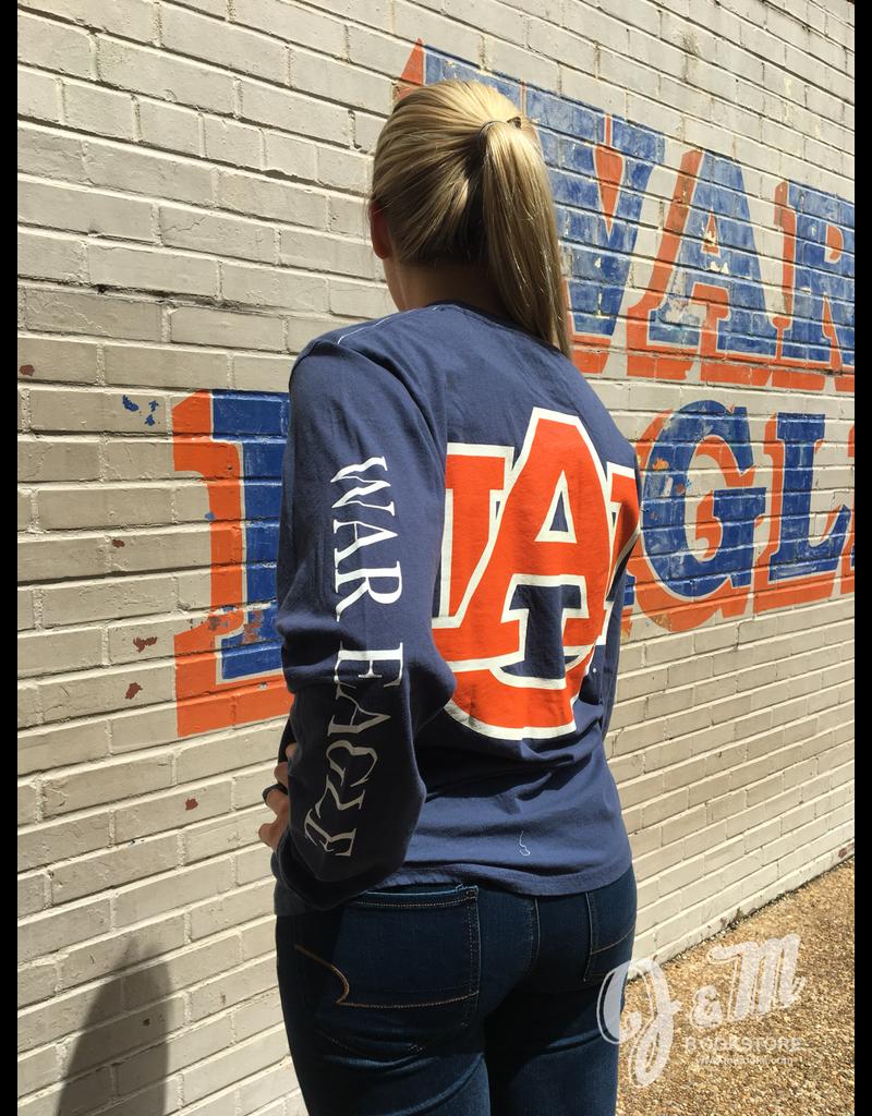 League Big AU on Back Long Sleeve T-Shirt