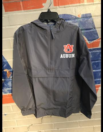 Champion AU Auburn 1/2 Zip Youth Pack N Go Pullover