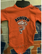College Kids Cute Aubie with Auburn Tigers Balloons Infant Long Sleeve Bodysuit