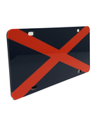 Craftique State Flag License Plate