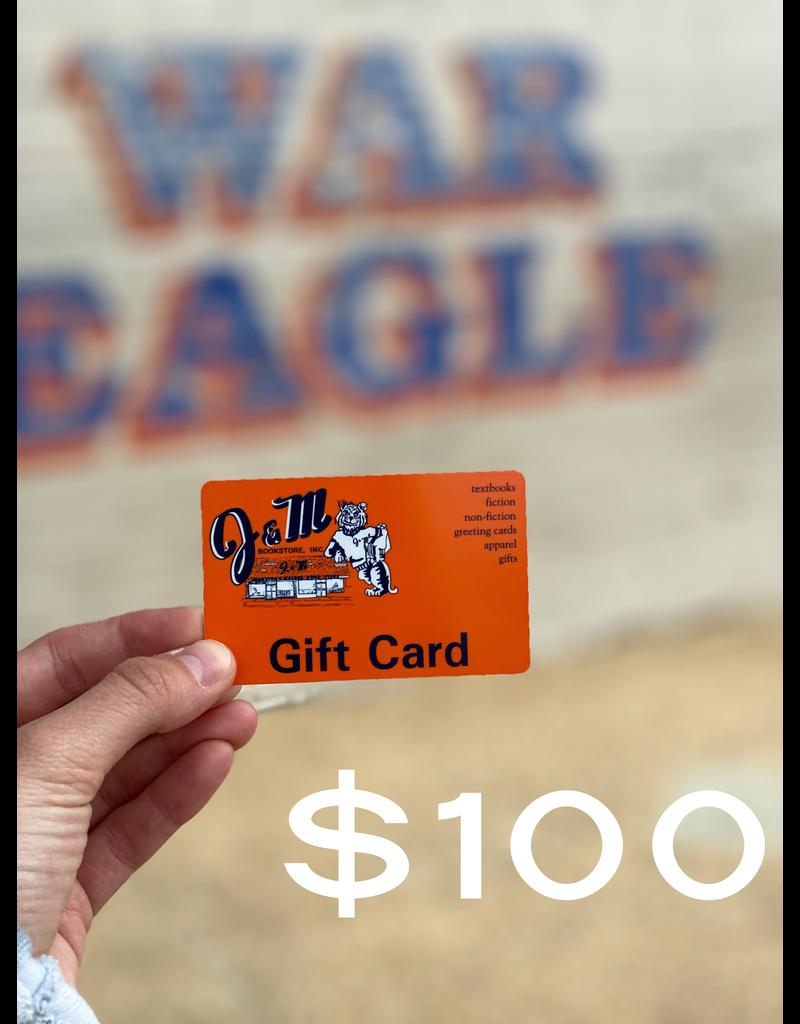 J&M $100 Gift Card