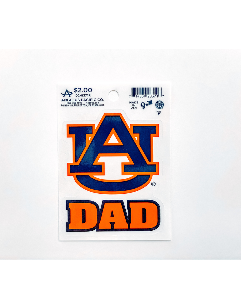 Angelus Pacific AU Dad Decal