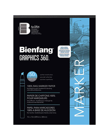 Bienfang Graphics 360 Marker Pad 14x17