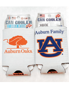 Wincraft Auburn Family AU Auburn Oaks 2-Sided Can Koozie
