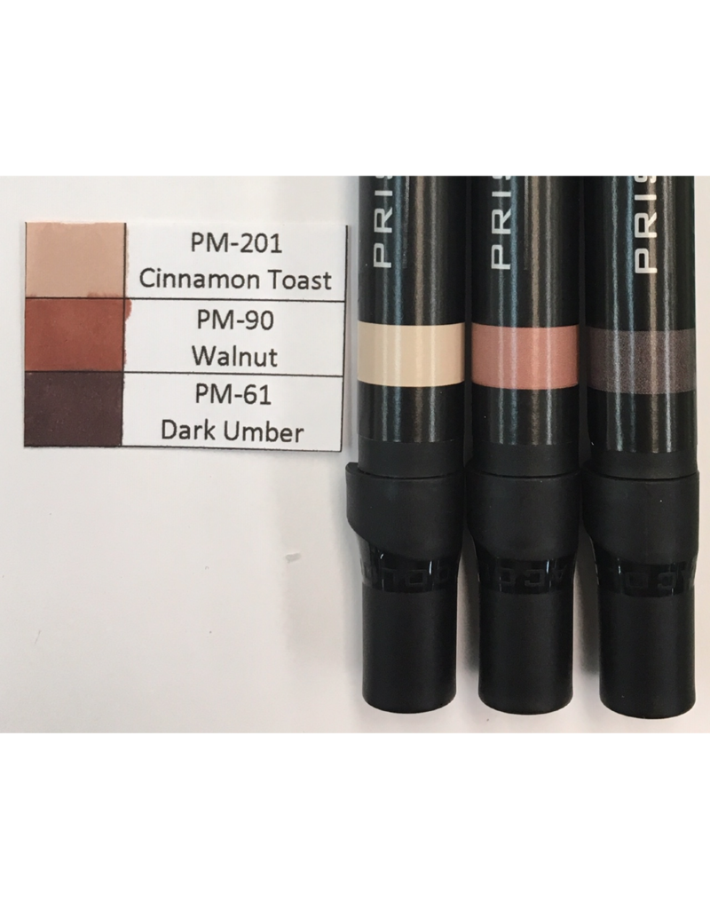 J&M Prismacolor Brown Graded Set-PM-201, PM-90, and PM-61