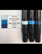 J&M Prismacolor Blue Graded Set-PM-202, PM-40,and PM-43