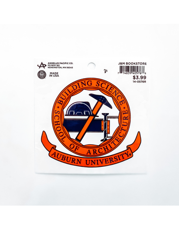 Angelus Pacific Building Science/ Architecture Decal