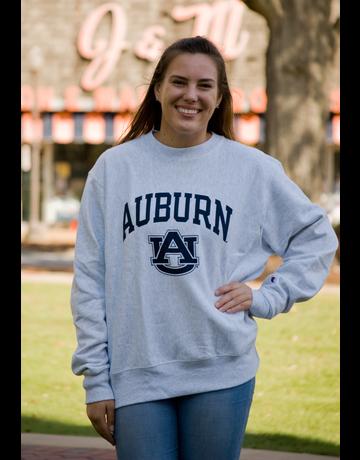 Champion Arch Auburn AU Reverse Weave Crew