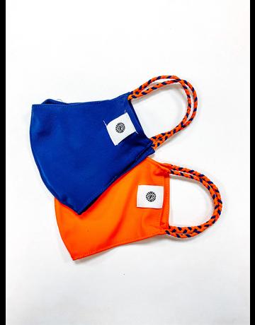 Pomchies Pom Mask 2-Pack, Orange/Navy
