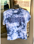 League Block Auburn Tie-Dye Youth T-Shirt