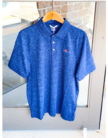 Cutter & Buck Leaping Tiger Space Dye Polo