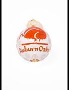 Kitty Keller Designs White Auburn Oaks Ornament