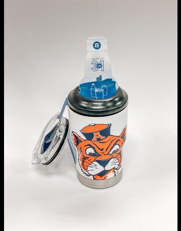 Gametime Lights LLC Auburn 3-in-1 Can/Bottle Jacket with Tumbler Lid