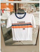 Garb Tigers AU Short Sleeve Ringer Top