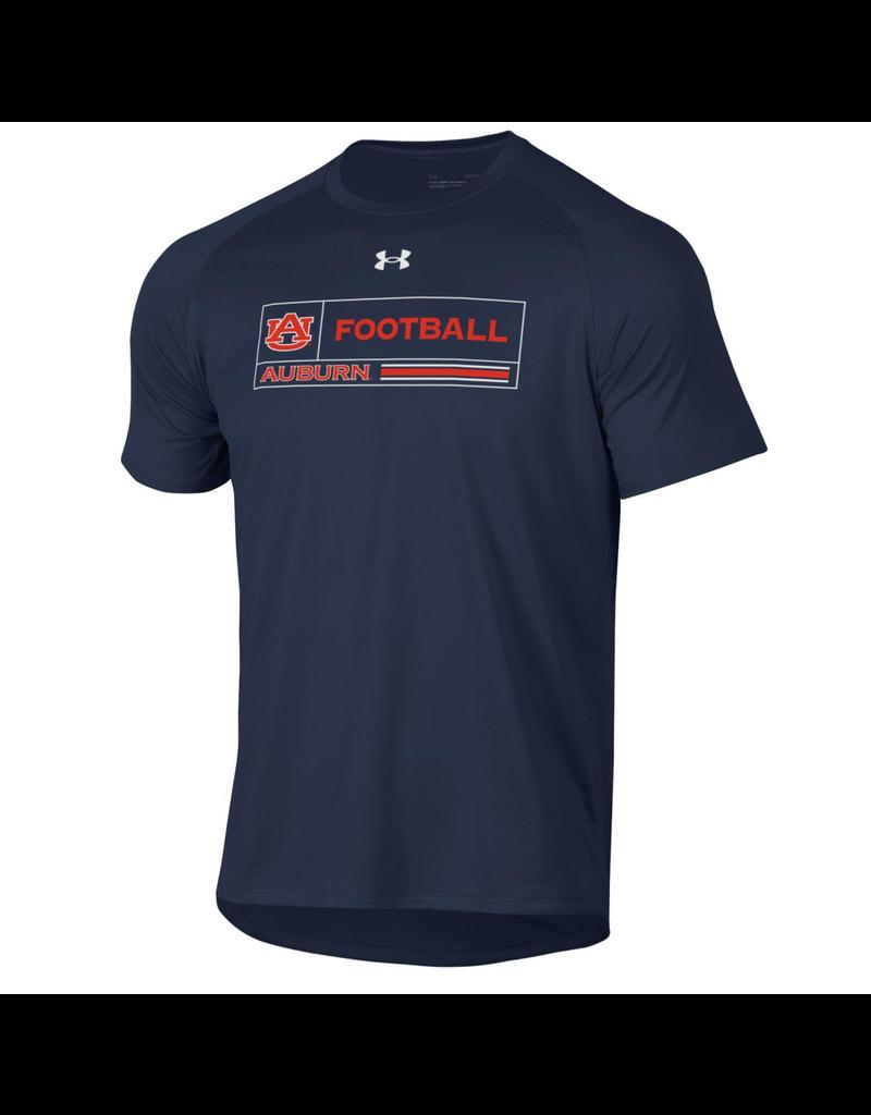Under Armour F20 AU Football Auburn Boxed T-Shirt