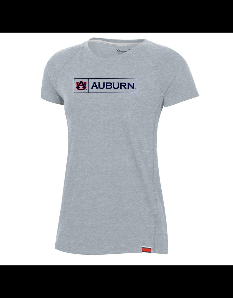 Under Armour F20 Womens AU Auburn Boxed Sideline T-Shirt - P-54109