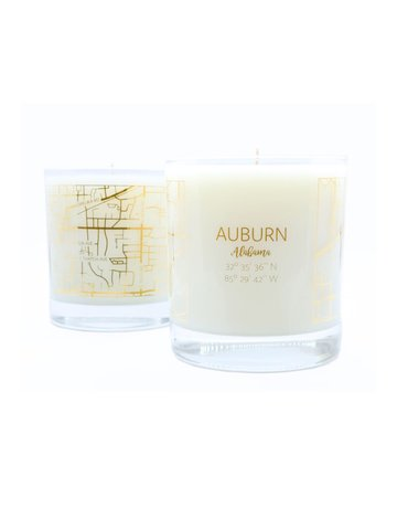 The Local Market Oliver Henry Auburn Map Candle