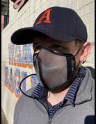 Dana Marquez Black Mesh Mask
